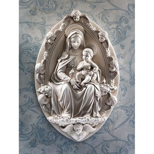 Madonna and Child Wall Sculpture