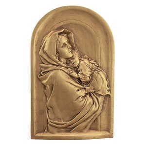 Madonna Streets Mother Wall Sculpture