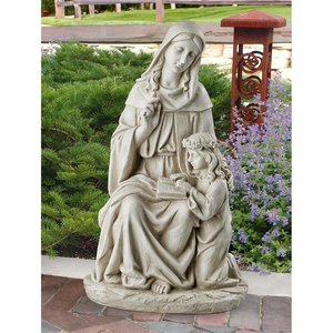 St. Anne with the Young Mary, Mother of Jesus Statue