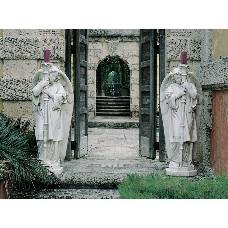 View larger image of Padova Guardian Angel Religious Statues: Medium Set of Two Left and Right