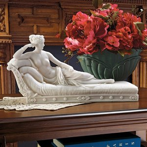 Maria Paulin Borghese as Venus Victorious Bonded Marble Statue