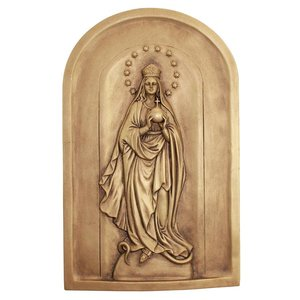 Mary, Queen of the Universe Wall Sculpture