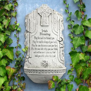 May the Road Rise to Meet You Irish Blessing Wall Font Sculpture