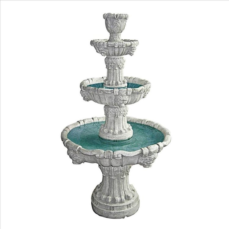 View larger image of Medici Lion Four-Tier Fountain
