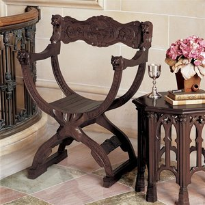 Medieval Cross Frame Chairs