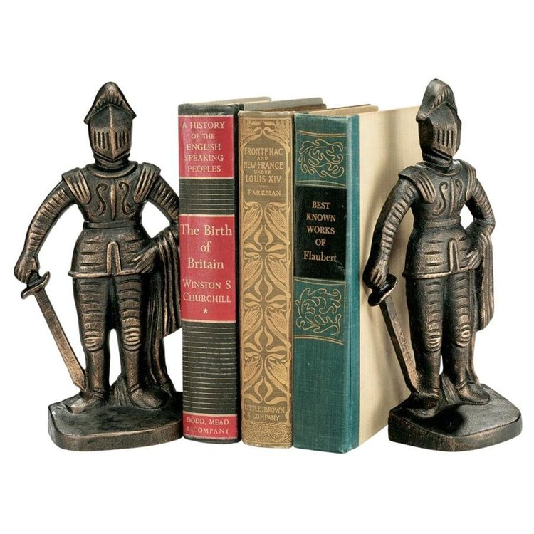 View larger image of Medieval Knight Iron Bookends