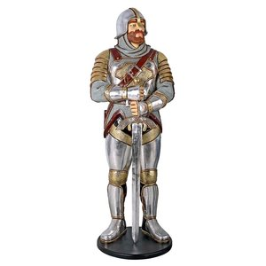 Medieval Knight of the Round Table  Life-Size Statue