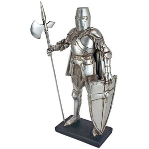 Medieval Nuremberg Castle Guard Gothic Knight Statue