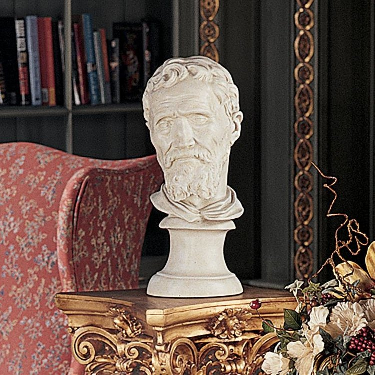 View larger image of Michelangelo Buonarroti Bust