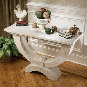 The Moderno Arch of Stone Console
