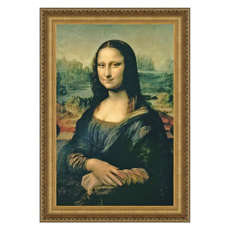 View larger image of Mona Lisa, 1503-1506: Canvas Replica Painting