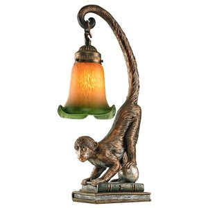 Monkey Business Sculptural Table Lamp
