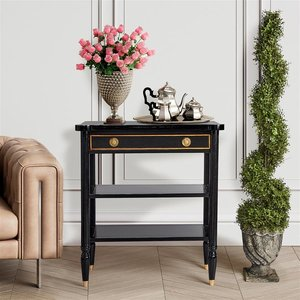 Montmartre Ebonized French Console Table