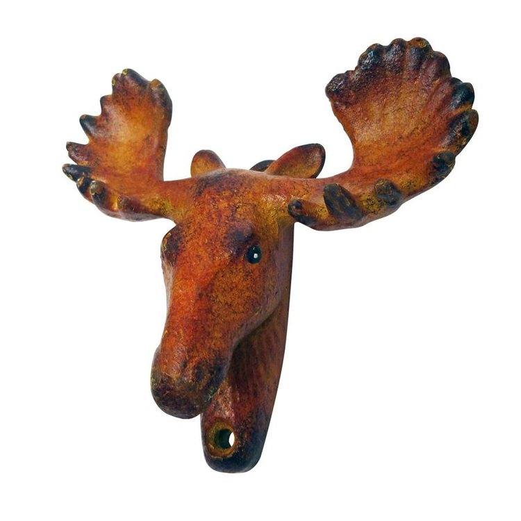 View larger image of Moose Tracks Cast Iron Bottle Opener: Set of Two