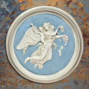 Morning Angel Roundel Wall Plaques (1815)