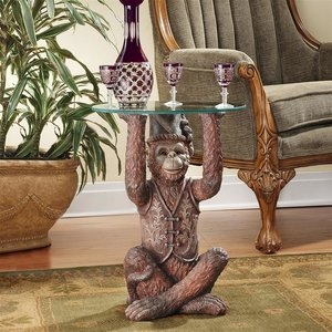 Moroccan Monkey Business Sculptural Side Table
