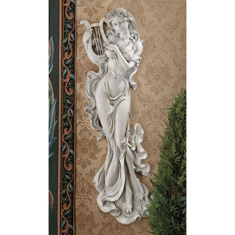 View larger image of Musical Muse Wall Sculpture: Set of Two