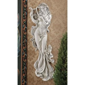 Musical Muse Wall Sculpture: Set of Two