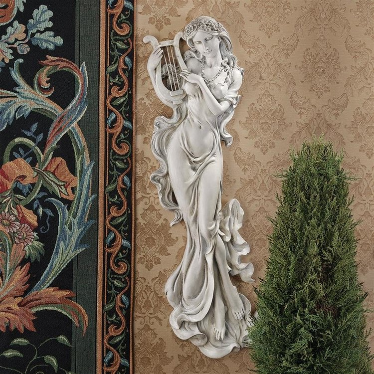 View larger image of Musical Muse Wall Sculpture