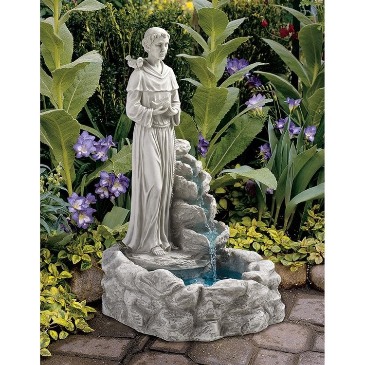 View larger image of Natures Prayer St Francis Fountain