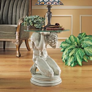 Neoclassical Male Occasional Table