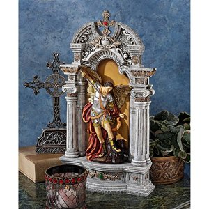 The Niche of St. Michael the Archangel Statue