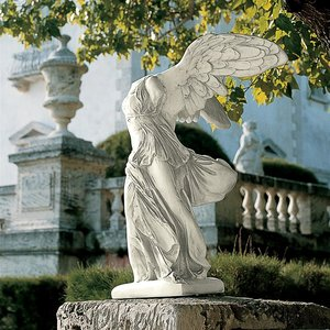 Nike of Samothrace Scaled Museum Replica Statue