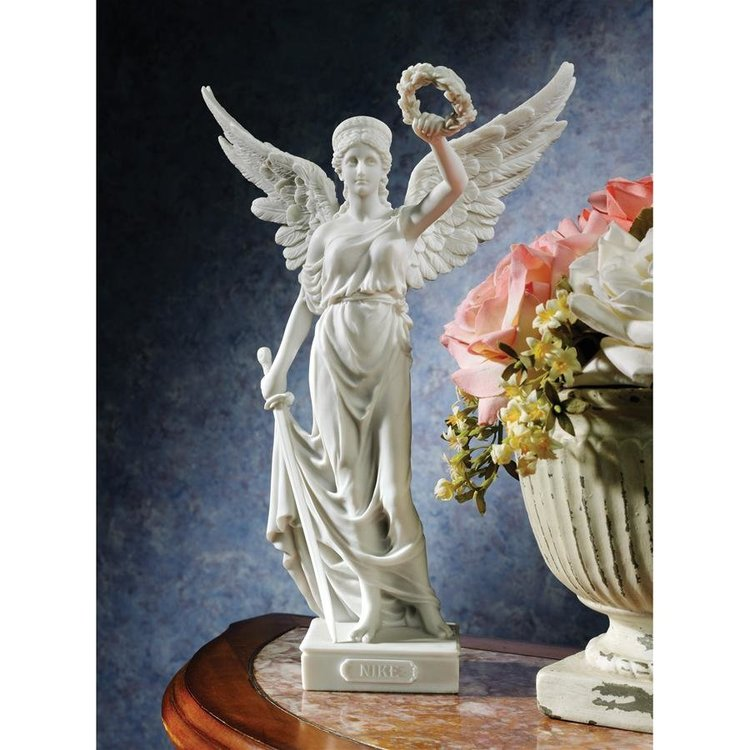 View larger image of Nike, the Winged Goddess of Victory Bonded Marble Resin Statue