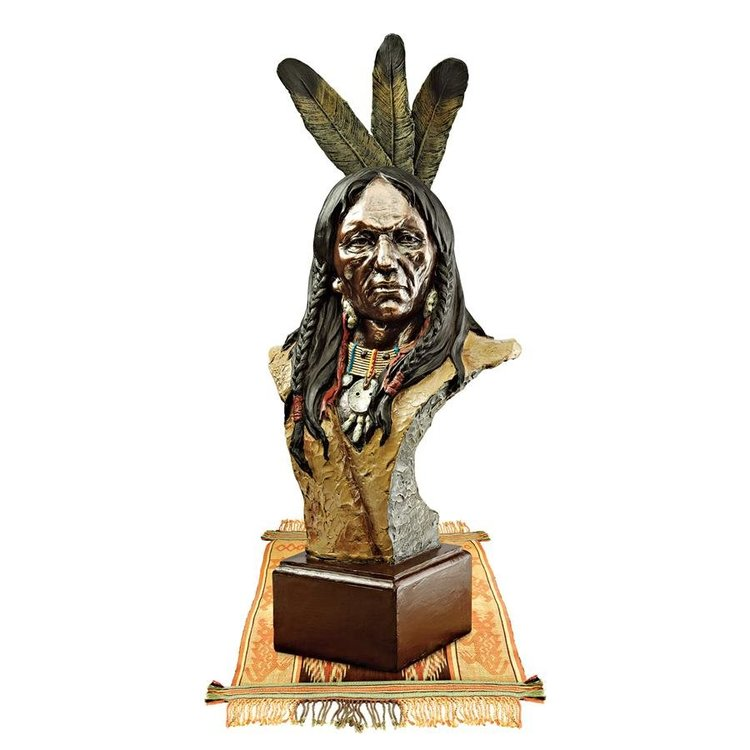 View larger image of Noble Chief Sculptural Bust