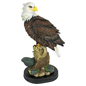 Noble Strength Bald Eagle Statues: Large