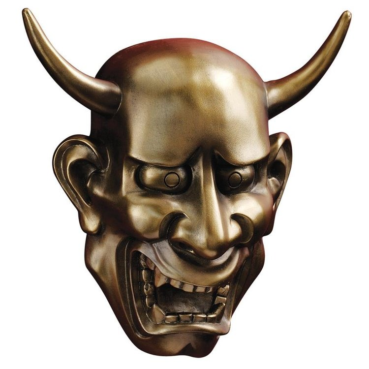 View larger image of Noh Hannya Demon Mask: Wall Sculptures