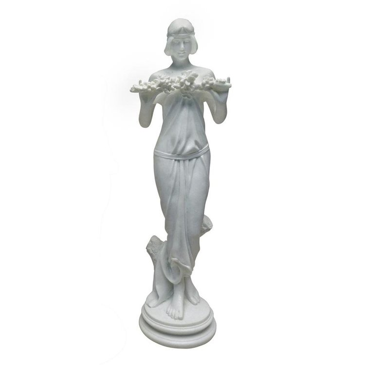 View larger image of Nymph of the Morning Glories, 1915: Bonded Marble Resin Statue