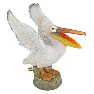 Oceanside Pelican Spitter Piped Statue