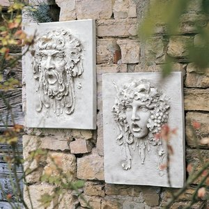 Opimus and Vappa Wall Sculptures
