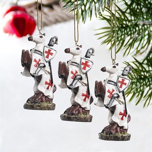 Order of the Teutonic Knights Holiday Ornament Collection: Set of Three