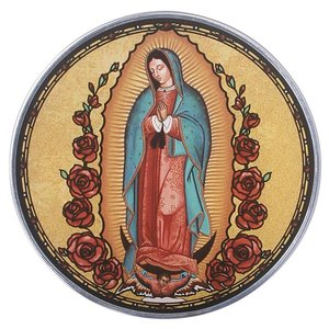 Our Lady Guadalupe Art Glass
