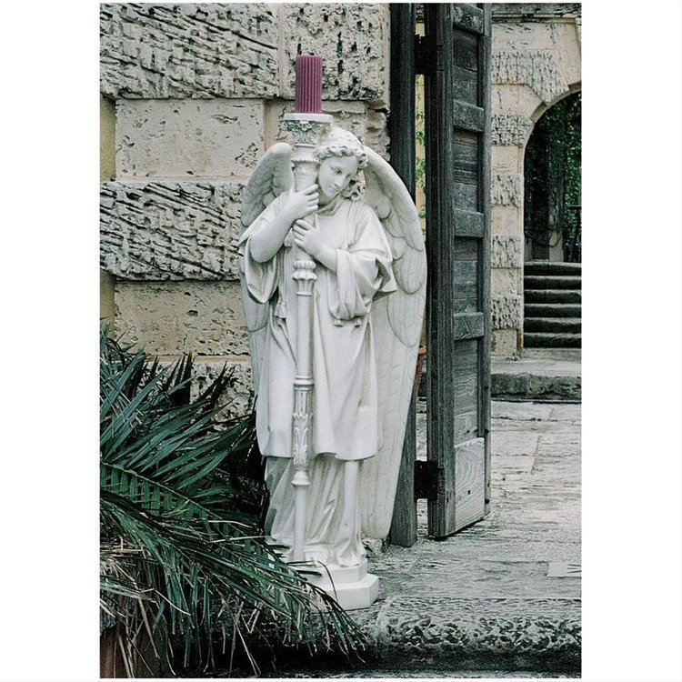 View larger image of Padova Guardian Angel Religious Statue: Grand Left