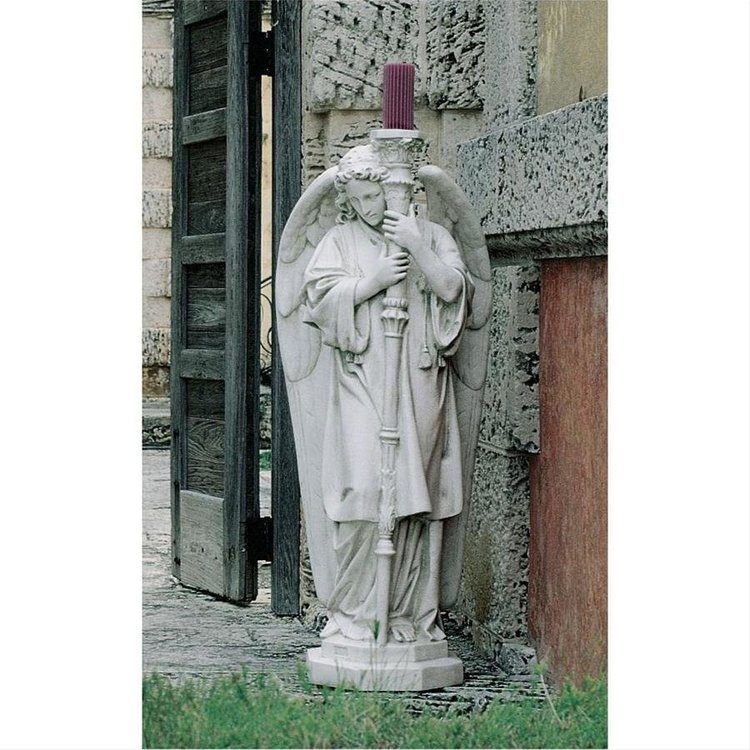 View larger image of Padova Guardian Angel Religious Statue: Medium Right