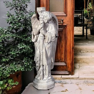 Padova Guardian Angel Religious Statue: Large Right