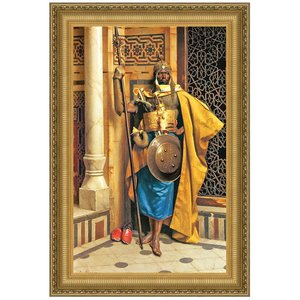 Palace Guard, Canvas Replica Painting: Small