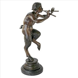 Pan, Greek God of the Forest Sculpture: Large