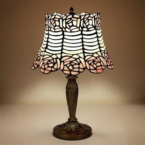 Parisian Folies Tiffany-Style Stained Glass Lamp