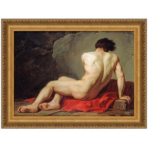 Patrocles, 1780: Canvas Replica Painting: Small