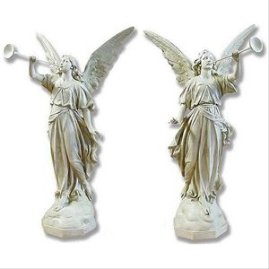 Pescara Proclamation Angels Religious Statues