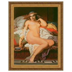Phryne, 1850: Canvas Replica Painting: Small