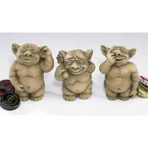 Picc a Dilly Gargoyle Statues Small Set
