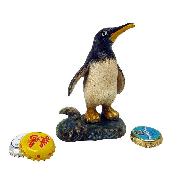 View larger image of Polar Penguin Cast Iron Bottle Opener: Set of Two