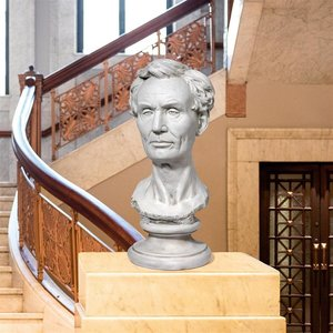 President Abraham Lincoln Bust Statue