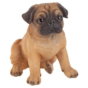 Pug Puppy Partner Collectible Dog Statue