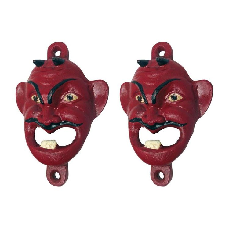 View larger image of Red Devil Cast Iron Bottle Opener: Set of Two